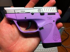 If I got a gun this would absolutely be the one!!!  Taurus .380 especially the purple one!  :)