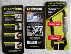 Lockstraps came from combining two great products into one. Tie down straps are used every day to secure valuables in the back of a pickup truck or trailer. Locks are used to detour theft. Most people tie down their valuables because they have to, but most people do not lock their stuff because it takes too much work and time Lockstraps makes locking up your valuables quick and easy.
