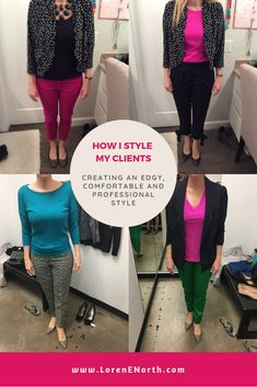 Behind-the-scenes with real people and find out how I style my clients in real life. See the outfits I create from my client's wardrobes (shopping their clos. Feeling Blah, Professional Look, Wardrobes, What To Wear, Style Me, Feels, Stylists, Challenges, Patterns
