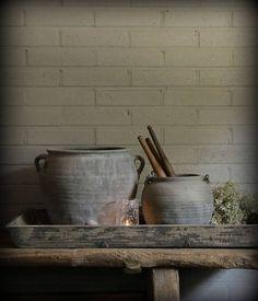 Dienblad/Tray gemaakt van oud hout