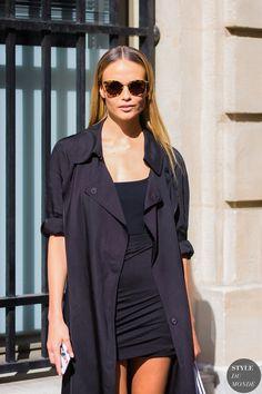 Natasha Poly Street Style Street Fashion Streetsnaps by STYLEDUMONDE Street…