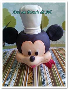Porta Balas Mickey mouse Cozinheiro. encomendas através do e-mail: solangecometti@terra.com.br