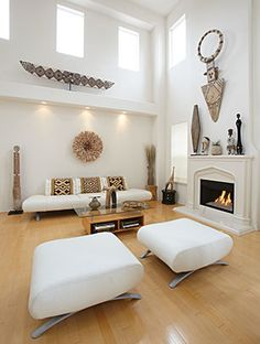 African art used in style. Get the look at MIX furniture on La Brea. www.MIXfurniture.com #Mix Furniture