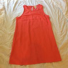Coral Short-Sleeved Dress Coral Short Sleeved YAYA Dress. Medium. Barely Worn. Dresses