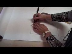 ▶ Pattern drafting for beginners - basic bodice in under 5 minutes - YouTube