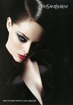I love this picture of Coco Rocha for Yves Saint Laurent ad