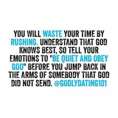 Godly dating 101 advice