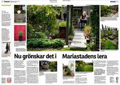 Cattis и Эйрас садового дизайна: Cattis & Эйра в СМИ