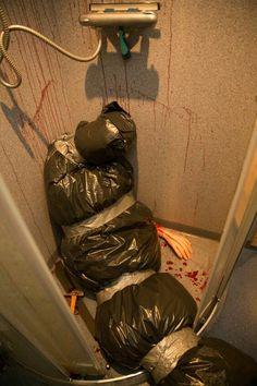 Dead body bathroom