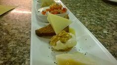 Assaggini di formaggi Cheese bites