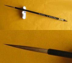 0.5*5.5cm long bristle Gongbi Liner Brush Chinese Meticulous painting brush
