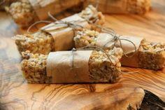 Zdjęcie: Batoniki musli - bez mąki, tłuszczu, jaj i cukru