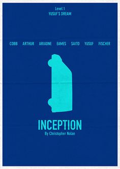 Inception - just put up a blog on the top 10 #Inception Alternative Movie Posters: http://thecautioustrain.blogspot.ie/