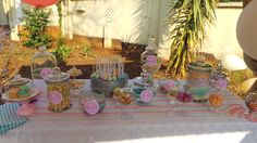 Pastel Candy Table