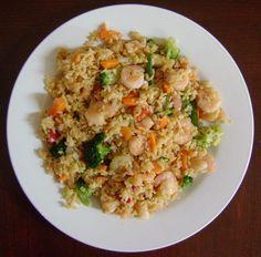 Easy Shrimp Fried Rice Recipe - How To Make Shrimp Fried Rice