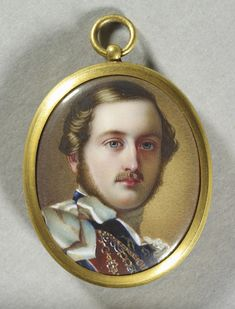 Prince Albert (1819-1861) miniature from the Royal Collection Trust