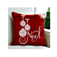 Noel With Ornaments Christmas Ornaments SVG DFX PNG eps Cricut Christmas svg, with commercial license Christmas Runner, Christmas Swags, Christmas Wood, All Things Christmas, Christmas Sewing Projects, Diy Craft Projects, Christmas Crafts, Christmas Ornaments, Christmas Cushions