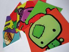 Character Design Postcards