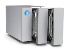 LaCie 2big ThunderboltTM 2 - 8 TB  (2 Hot-Swap-fähige* Festplatten mit 7200 U/min), Raid 0 & Raid 1, 2 x Thunderbolt, USB 3.0 - LAC9000438EK Suggested price:EUR 639.00 Price:EUR 582.98 [Germany]