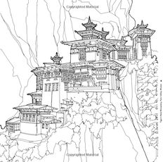 Fantastic Structures A Coloring Book Of Amazing Buildings Real And Imagined Steve McDonald