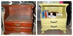 Before & After: Nursery Side Tables - The Sweet Spot Blog