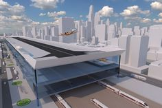 """CentAirStation"" airport concept and ""CityBird"" aircraft concept Bauhaus, Aircraft, Concept, Planes, Home Decor, Future, Air Ride, Airplane, Airplanes"