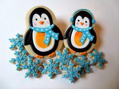 penguins --- LOVE the earmuffs!