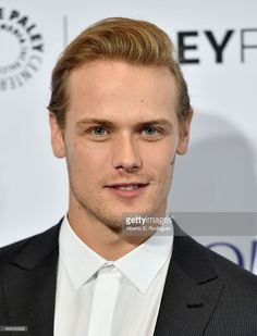 Actor <a gi-track='captionPersonalityLinkClicked' href=/galleries/search?phrase=Sam+Heughan&family=editorial&specificpeople=6931997 ng-click='$event.stopPropagation()'>Sam Heughan</a> attends The Paley Center for Media's 32nd Annual PALEYFEST LA 'Outlander' at Dolby Theatre on March 12, 2015 in Hollywood, California.