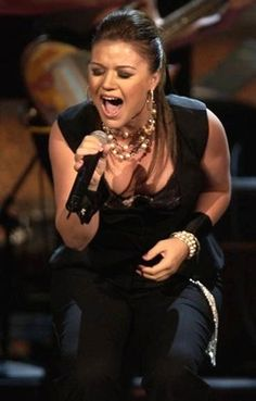 Kelly Clarkson.  Great female singer/songwriter.