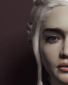 Game Of Thrones Tattoo, Game Of Thrones Poster, Game Of Thrones Books, Game Of Thrones Fans, Small Fox Tattoo, Daenarys Targaryen, Emilia Clarke Daenerys Targaryen, Game Costumes, Painter Artist