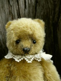Image of Priscilla, One Of a Kind Mohair Artist Bear from Aerlinn Bears Old Teddy Bears, Polar Bears, Dont Feed The Bears, Cute Bears, Antique Dolls, Cuddling, Old Things, Creatures, Beer