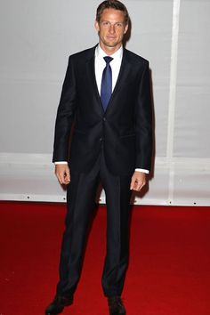 Jenson Button | Red carpet BRIT Awards 2012 | hellomagazine.com