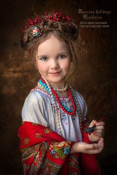 Little Girl Photography, Children Photography, Russian Beauty, Russian Fashion, Folk Fashion, Fashion Art, Beautiful Children, Beautiful Babies, Reign Fashion