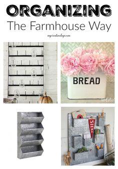 mycreativedays: Organizing The Farmhouse Way