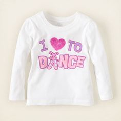 love dance graphic tee