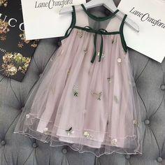 Little Girl Dresses Kids Frocks, Frocks For Girls, Little Girl Dresses, Girls Dresses, Flower Girl Dresses, Little Girl Fashion, Kids Fashion, Baby Dress Design, Baby Dress Patterns
