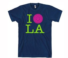 I DJ LA Tee  You can take the girl outta LA, but you cannot take the LA outta the girl!