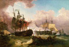 Phillip James De Loutherbourg - The Battle of Camperdown [1799]