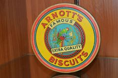 Vintage Collectable Arnotts Biscuits Tin