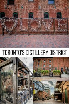 A photography guide to the best spots in Toronto, Ontario, including the awesome Distillery District.