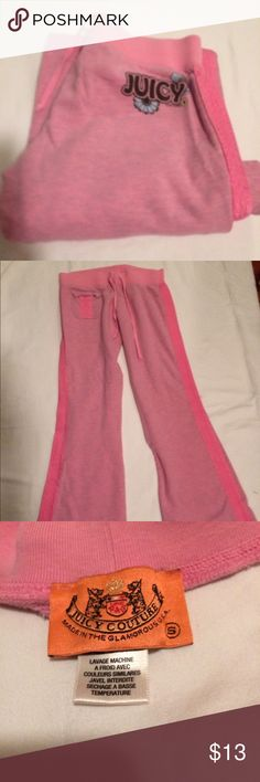 juicy couture sweats these are in excellent condition probably worn once or twice Juicy Couture Pants Track Pants & Joggers