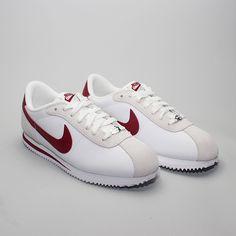 Nike Cortez Basic Leather 06 White/Team Red - Foto 1