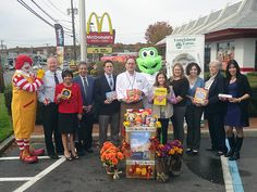 Long Island McDonald's 6th Annual Holiday Food Drive has begun, and for the first time ever, the corporation has partnered with Long Island Cares to reach out to Long Islanders that are affected by hunger.
