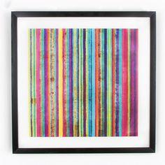 Obraz Graham & Brown Neon Stripe, 50x50 cm