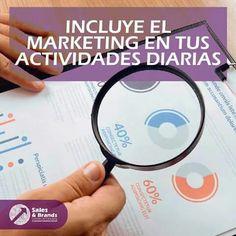 Si practicas de 3 a 5 actividades de marketing todos los días, pronto adoptarás un hábito de mercadotecnia que dará resultados en tus ganancias. www.salesandbrands.com/localizanos/   #marketing #ventas #compras #negocios #empresas #pymes #caracas #venezuela #advertising #estrategias #entrepreneur #ads #millenials
