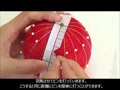 TM9 2 16等分の地割りとピンの打ち方 - YouTube