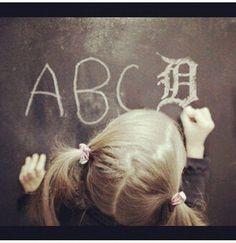 Michigan alphabet :)