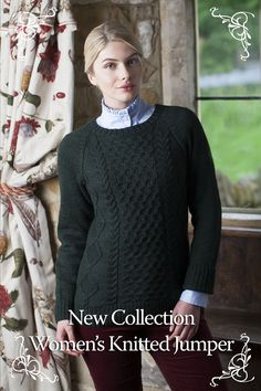 The Dubarry Collection, Shandon: Warm, stylish yet traditional women's knitted jumper #AW14 #ComingSoon