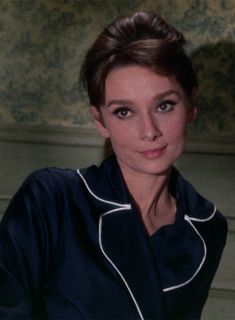Audrey Hepburn in Charade (1963) I love this movie. It's second in my top three favorites: Roman Holiday, Charade, and Breakfast at Tiffany's