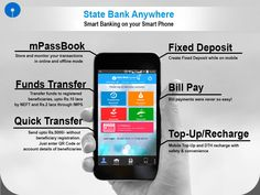 Bank with just a touch with #StateBank #Anywhere, whether you want to check your balance or transfer funds, open a Term Deposit or top-up your mobile.